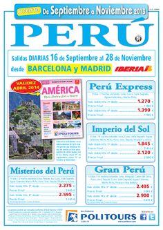 PERÚ Express, salidas Diarias del 2/10 al 28/11 desde Madrid y Barcelona (9d/7n) precio final 1.840€ - http://zocotours.com/peru-express-salidas-diarias-del-210-al-2811-desde-madrid-y-barcelona-9d7n-precio-final-1-840e/