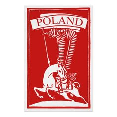 Shop Vintage Polish Winged Hussar Poster created by historicimage. Bolshevik Revolution, Fun Things, Vintage Shops, Poland, Graphic Art, Georgia, Islam, Russia