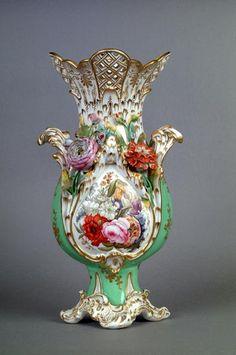 porc.COALPORT__Porcelain (Shropshire, England) — Coalbrookdale-style Vase, c.1830s (365x550)