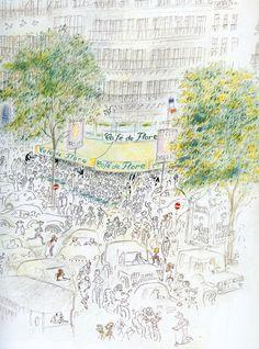 까페 드 플로에서 le Café de Flore : 네이버 블로그