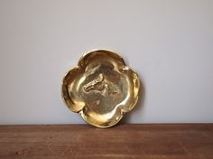 Vintage Virginia Metalcrafters Brass Horse Head Dish