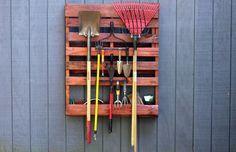 Ideas DIY para reutilizar palets en el jardín