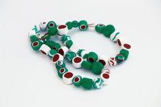 Polymer Clay Necklace  Fimo Handmade Jewelry  by YummysJewelry, $25.00