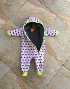 Freebook Anzug für Babys 56 - 116