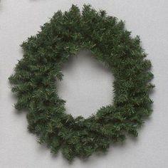 "10"" Two-Tone Whitewood Pine Mini Artificial Christmas Wreath - Unlit"