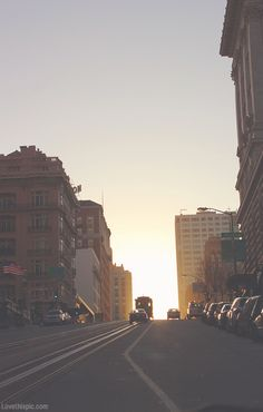 street view photography cars cities sunset street buildings city photography