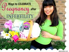 Ways to Celebrate Pregnancy After Infertility http://alamodest.com/ways-to-celebrate-pregnancy-after-infertility/  #KleenexCares #ad
