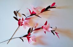 Crepe paper blossoms − handmade by Ameli's Lovely Creations