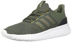 980970fdfda adidas Men s Cloudfoam Ultimate Running Shoe Base Green Carbon