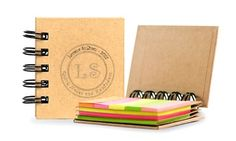 Groupon - Personalized Notebook with Sticky Notes and Flags from MonogramHub (90% Off). Groupon deal price: $5