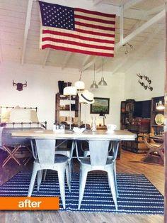 Before & After: Heather's Garage Studio Renovation