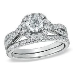 14k White Gold Plated 925 Sterling Silver Plated Wedding Engagement Ring Set #aonedesigns