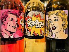 Un #vino de comic @crashwine nos lo presenta de #popart #winelovers #crashwines