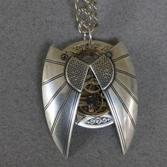 Steampunk Unisex Art Deco Bug Pendant by oscarcrow on Etsy, $45.00