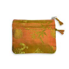 Zip Wallet - Silk Jacquard