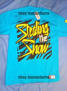 DOLPH ZIGGLER Autographed WWE Authentic t-shirt medium  http://r.ebay.com/dimT4n