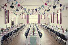 How to decorate a village hall for a wedding Indoor Wedding, Farm Wedding, Wedding Reception, Wedding Venues, Wedding Ideas, Casual Wedding, Wedding Locations, Wedding Details, Summer Wedding
