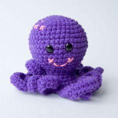 Crochet Pattern - Otto the Octopus SPDBN Mascot, $3.50