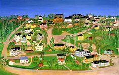 Thelma Salo, maalaus 1973.  Pasila.