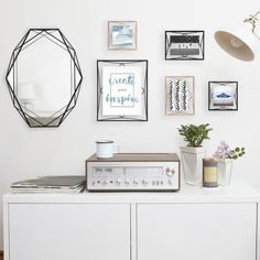 Wedding registries don't have to be filled with classic dining sets and fancy kitchenware - use your gifts to reflect your lifestyle together. Ultimate Wedding Gifts, Wedding Gift List, Wedding Styles, Gallery Wall, Fancy, Interior Design, Frame, Wedding Registries, Dining Sets