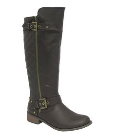 Take a look at this Brown Tara-12 Boot on zulily today!