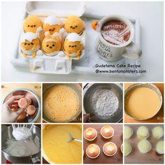 Gudetama Easter Chiffon Cake | BentoMonsters.com