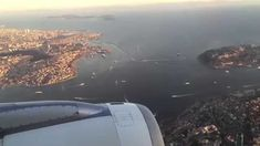 The Most Beautiful City: Istanbul 2015 - Turkish Airlines landing at Ist...