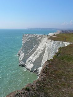 England.  Seaford, East Sussex, England