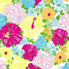 Lilly Pulitzer Multi Heritage Floral
