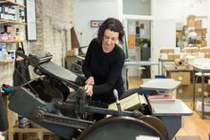 Letterpress Studio in Action in Chicago, Steel Petal Press greeting cards Letter Press, Like Instagram, Thought Process, Letterpress Printing, Design Process, Printing Services, Printing Process, Pilot, Chicago