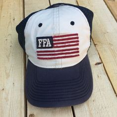 FFA flag twill hat. #FFAstyle