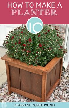 How to Make a Planter - Infarrantly Creative