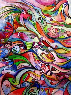 swirly colors