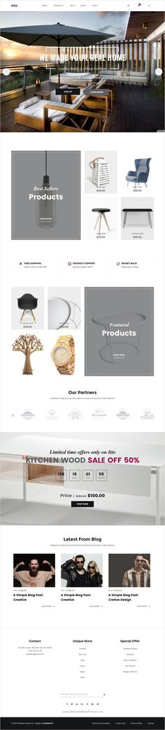 Etto is a clean and unique design responsive #WordPress #eCommerce theme using latest trendy #material #design for online shopping stores website with 4 different homepage layouts download now➩ https://themeforest.net/item/itto-multistore-ecommerce-wordpress-theme/17931977?ref=Datasata