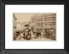 PHOTO/CHARING X STREET Framed Print from Mary Evans, London, Places