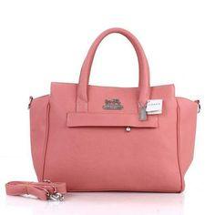 Coach Bleecker Pinnacle Riley Carryall Medium Pink Satchels $62.00  http://coachoutlet.kchbags.com/
