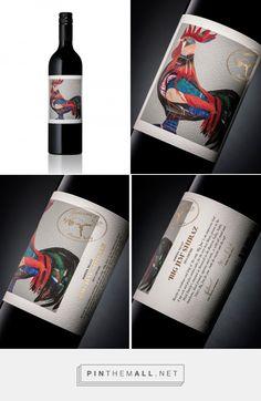Teusner 'Big Jim' Shiraz — The Dieline - Branding & Packaging - created via http://pinthemall.net