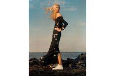 Caroline Trentini by Jamie Hawkesworth for Vogue US Dec 2015, styling by Grace Coddington