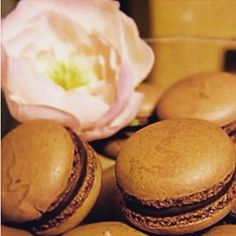 San Valentín 2016. Macarons de chocolate.