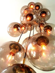 Wall Lights, Ceiling Lights, Glass Ball, Bubbles, Chandelier, Bulb, Contemporary, Studio, Etsy