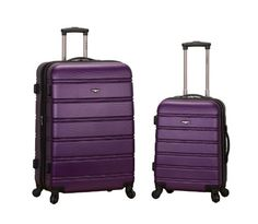 Rockland Luggage 20 Inch 28 Inch 2 Piece Expandable Spinner Set, Purple, One Size Rockland http://www.amazon.com/dp/B00FB4X3H2/ref=cm_sw_r_pi_dp_perqvb159WC63