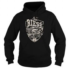 Awesome Tee RIESS Last Name, Surname Tshirt T shirts