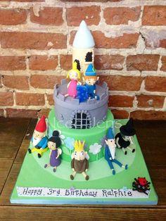 Ben & Holly's Little Kingdom cake - by IcedJens @ CakesDecor.com - cake decorating website