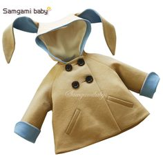 3e904787a5d New honey bunny coat in pink rabbit jacket design spring autumn baby girl  coat children outwear kids coat for girls clothing 1 5-in Jackets   Coats  from ...