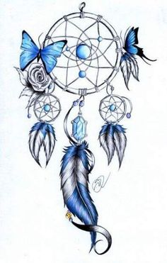 Tattoo thigh dreamcatcher tatoo 60 Ideas is part of Watercolor Flower tattoos Floral Wreaths - Watercolor Flower tattoos Floral Wreaths Trendy Tattoos, Love Tattoos, Beautiful Tattoos, New Tattoos, Body Art Tattoos, Small Tattoos, Drawing Tattoos, Dream Catcher Drawing, Dream Catcher Tattoo Design