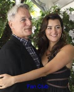 NCIS. - Mark Harmon and Cote de Pablo