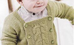 erkek-bebek-orgu-hirka modeli | Gri Pijama | Moda, Kadın, Sağlık, Güzellik