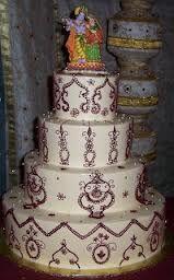 indian brown wedding cake - Buscar con Google