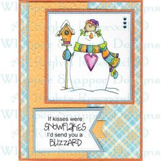 This inspirational project can be made using our stamp images and your favorite craft supplies. Christmas Cards 2017, Christmas Doodles, Christmas Templates, Christmas Decorations, Winter Cards, Snowman, Craft Supplies, Card Making, Tag