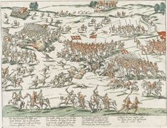 The battle of Courtras (October 20, 1587) saw the over-confident Catholic heavy cavalry charge from too great a distance. By the time they got to the Huguenot light cavalry their, horses were blown. Henri de Navarre had also placed a surprise amongst his cavalry--platoons of arquebusiers. This combination broke the enemy cavalry and then the infantry.